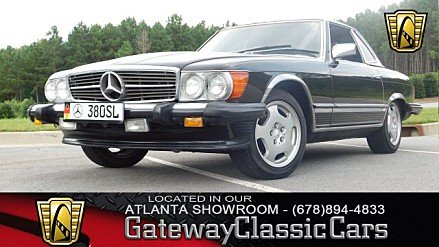 1985 mercedes-benz 380SL for sale 101020803