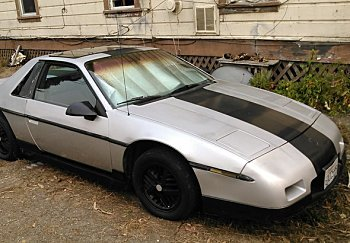 1985 pontiac Fiero for sale 100951225