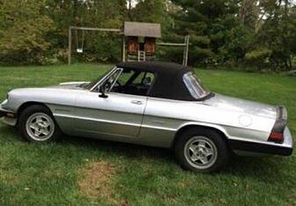 1986 Alfa Romeo Spider for sale 100800058
