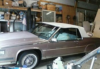 1986 Cadillac De Ville Fleetwood Edition for sale 100844071