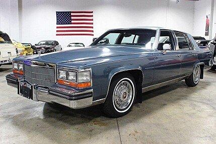 1986 Cadillac Fleetwood Brougham Sedan for sale 100727177