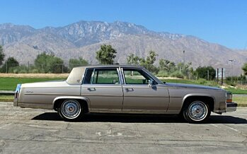 1986 Cadillac Fleetwood Brougham Sedan for sale 100914473
