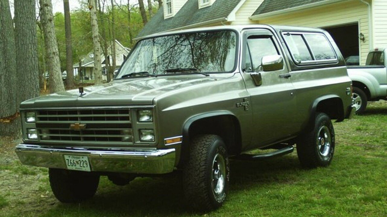 1986 Chevrolet Blazer for sale 100880728