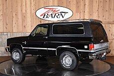 1986 Chevrolet Blazer 4WD for sale 100832667