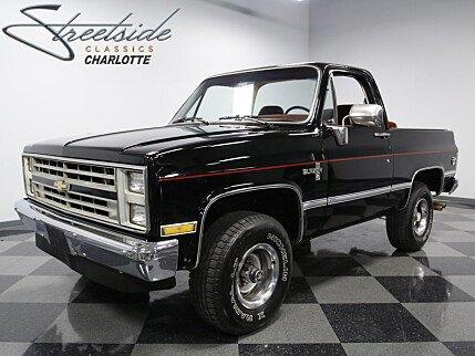 1986 Chevrolet Blazer 4WD for sale 100856452
