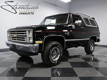 1986 Chevrolet Blazer 4WD for sale 100856452