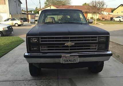 1986 Chevrolet Blazer for sale 100857747