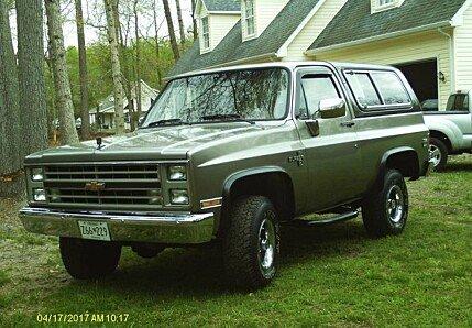 1986 Chevrolet Blazer for sale 100880728