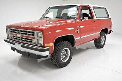 1986 Chevrolet Blazer 4WD for sale 100988128