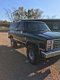 1986 Chevrolet Blazer 4WD 2-Door for sale 100925128