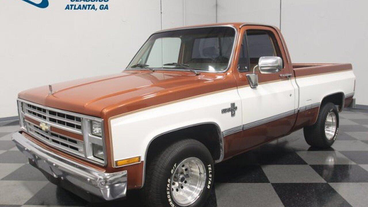 1986 Chevrolet C/K Truck 2WD Regular Cab 1500 for sale near Lithia ...