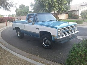 1986 Chevrolet C/K Truck for sale 100946019