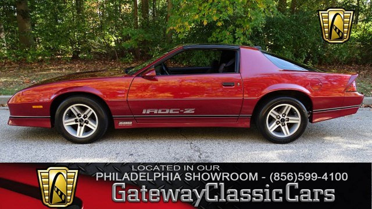 1986 Chevrolet Camaro Coupe for sale 100964687