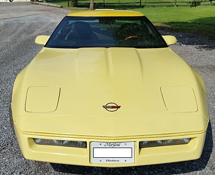 1986 Chevrolet Corvette Coupe for sale 100781264