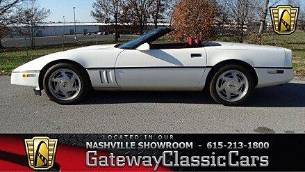 1986 Chevrolet Corvette Convertible for sale 100964948