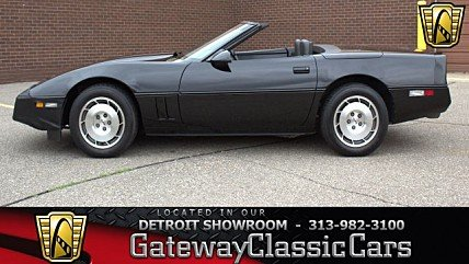 1986 Chevrolet Corvette Convertible for sale 100991694