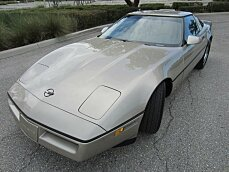 1986 Chevrolet Corvette Coupe for sale 100996518