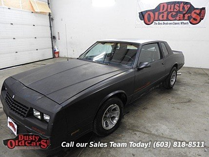1986 Chevrolet Monte Carlo SS for sale 100742833