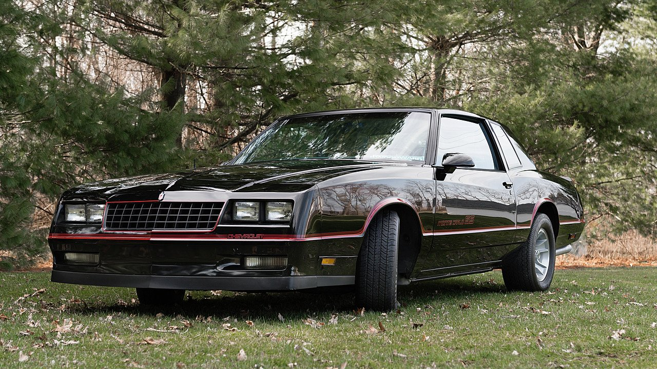 1986 chevrolet monte carlo ss for sale near oxford michigan 48371 classics on autotrader. Black Bedroom Furniture Sets. Home Design Ideas