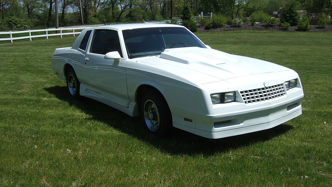 1986 chevrolet monte carlo ss for sale near griffith indiana 46319 classics on autotrader. Black Bedroom Furniture Sets. Home Design Ideas
