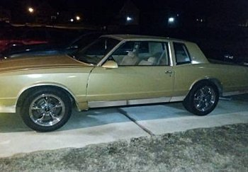1986 Chevrolet Monte Carlo for sale 100947000
