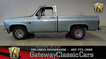 1986 Chevrolet Silverado and other C/K1500 2WD Regular Cab for sale 100762557