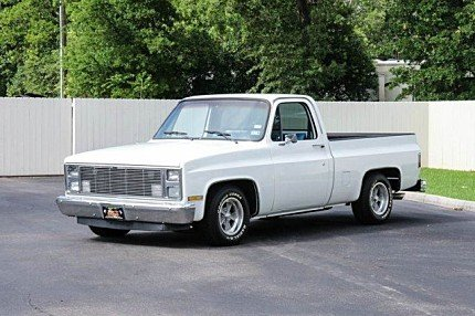 1986 Chevrolet Silverado and other C/K1500 2WD Regular Cab for sale 100766988