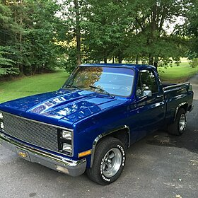 1986 Chevrolet Silverado and other C/K1500 2WD Regular Cab for sale 100776702