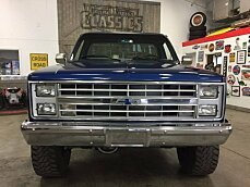 1986 Chevrolet Silverado and other C/K1500 4x4 Regular Cab for sale 100857643