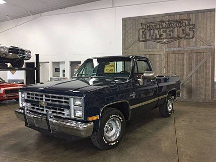 1986 Chevrolet Silverado and other C/K1500 2WD Regular Cab for sale 100857644