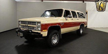 1986 Chevrolet Suburban 4WD for sale 100831237