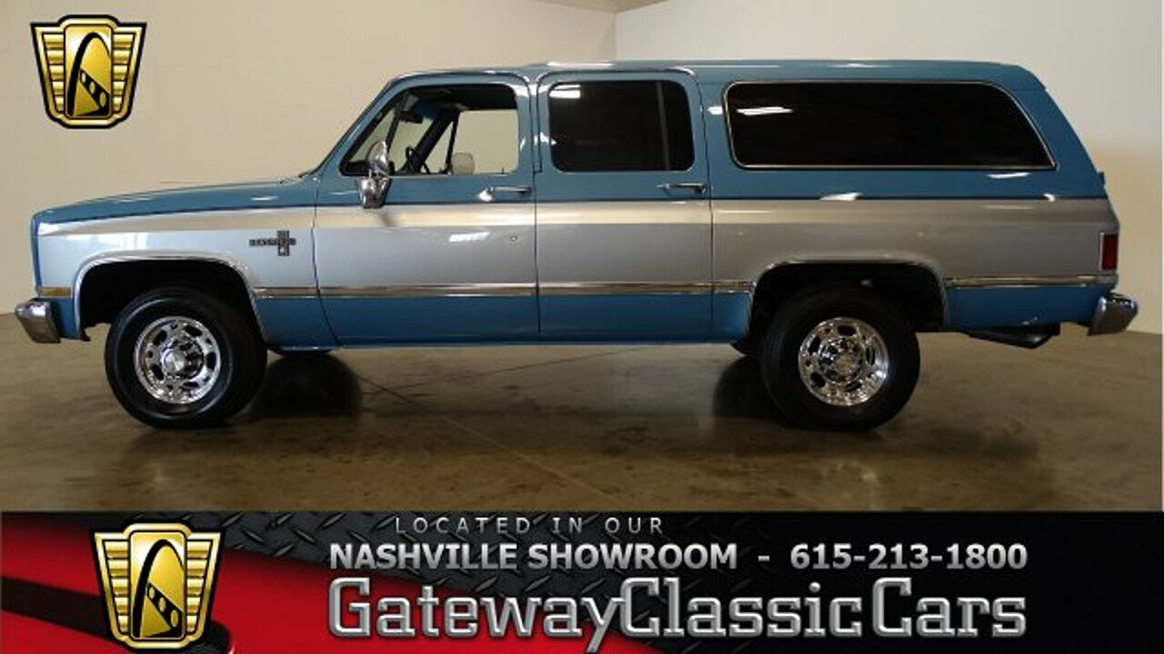1986 Chevrolet Suburban 2WD 2500 for sale 100949483