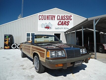 1986 Chrysler LeBaron for sale 100748630