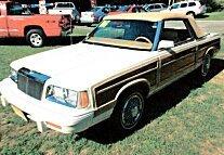 1986 Chrysler LeBaron Convertible for sale 100784802