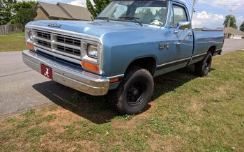 1986 Dodge D/W Truck 4x4 Regular Cab W-150 for sale 100989431
