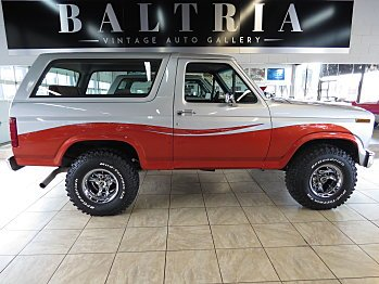 1986 Ford Bronco for sale 100890174