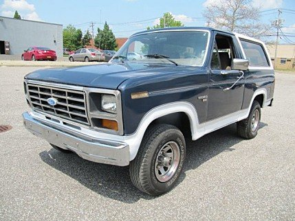 1986 Ford Bronco for sale 101004800