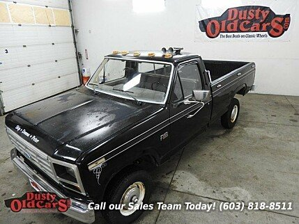1986 Ford F150 4x4 Regular Cab for sale 100735187
