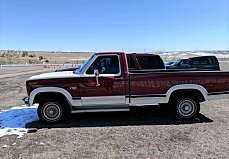 1986 Ford F150 4x4 Regular Cab for sale 100959502