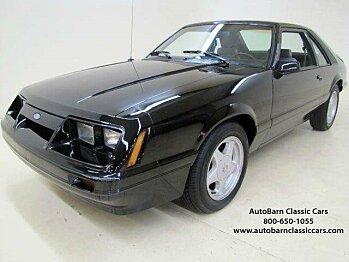 1986 Ford Mustang LX Hatchback for sale 100723829