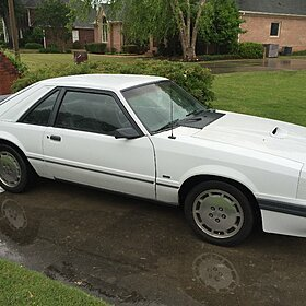 1986 Ford Mustang SVO Hatchback for sale 100769797