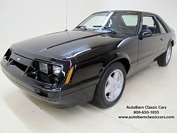 1986 Ford Mustang LX Hatchback for sale 100860224