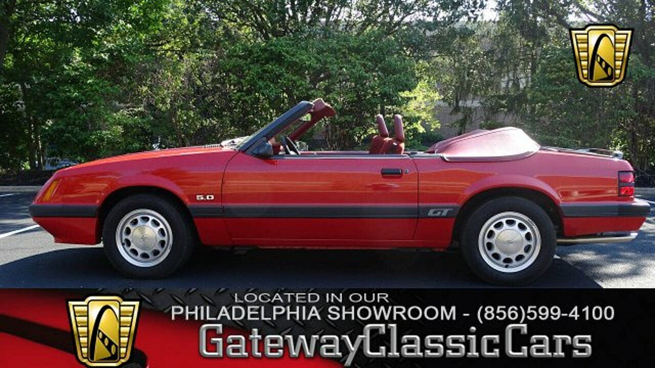 1986 Ford Mustang Convertible for sale 100949361
