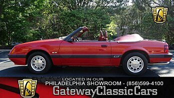 1986 Ford Mustang Convertible for sale 100963385