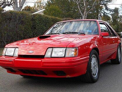 1986 Ford Mustang SVO Hatchback for sale 100977257