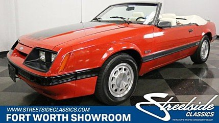 1986 Ford Mustang for sale 100978261