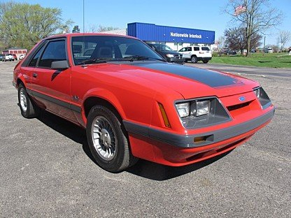 1986 Ford Mustang Hatchback for sale 100987923