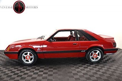 1986 Ford Mustang Hatchback for sale 101009203