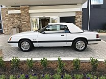 1986 Ford Mustang LX Convertible for sale 101028196