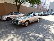 1986 Mercedes-Benz 560SL for sale 100774158